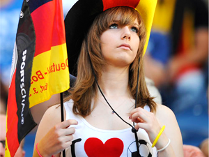 German Soccer Fans Invade The Musket – Best place to watch the Euro Cup 2012