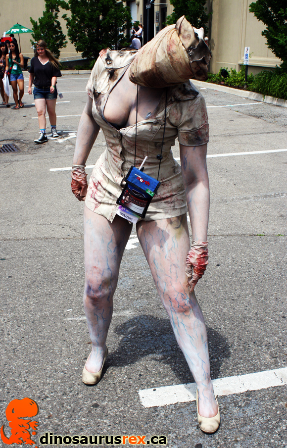 R Silent hill Cosplay Anime North 2012 dinosaurus rex